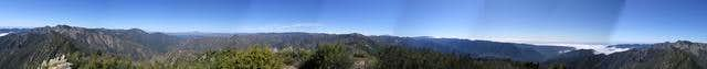 360 panorama from the Ventana...