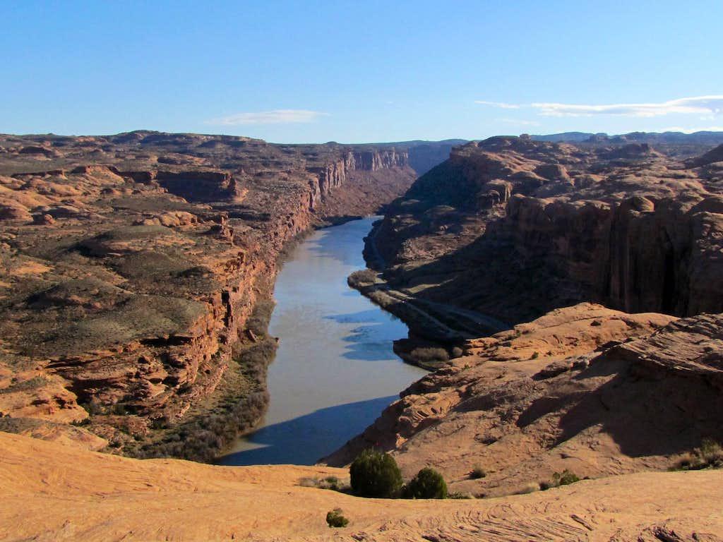 Colorado River and Route 128