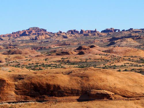 Zooming into Arches National Park