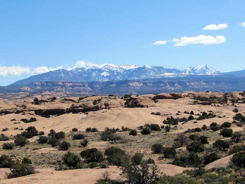 La Sal Mountains, northern section