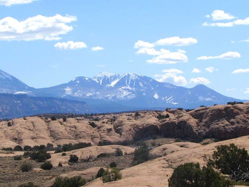 La Sal Mountains, southern section