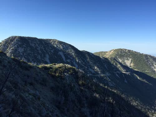 Mount Markham and Mount Lowe