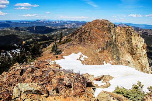 Sierra Buttes north view