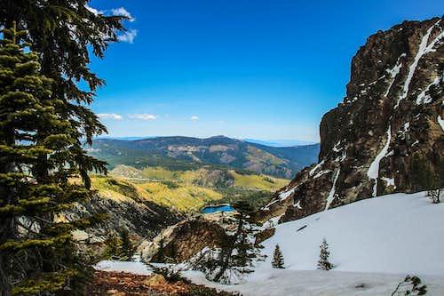 Sierra Buttes crest