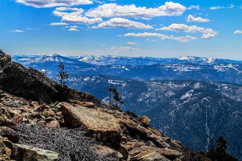 Sierra Buttes south
