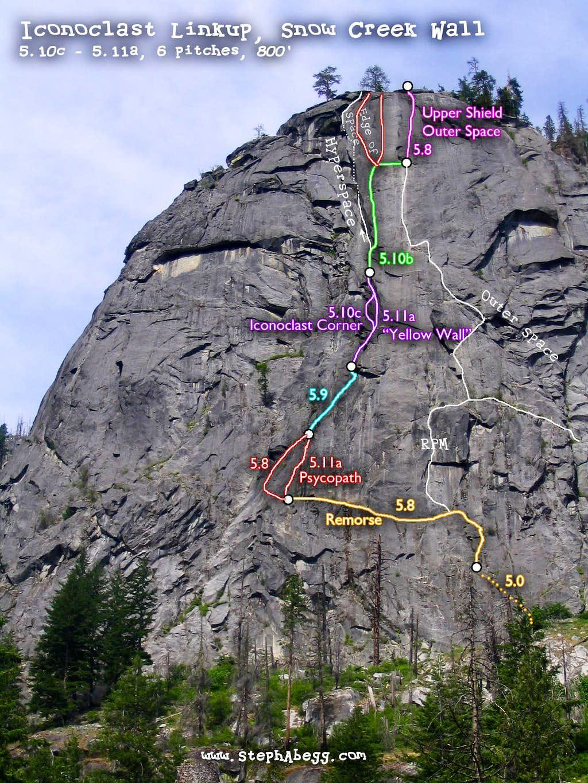 Iconoclast Route Overlay