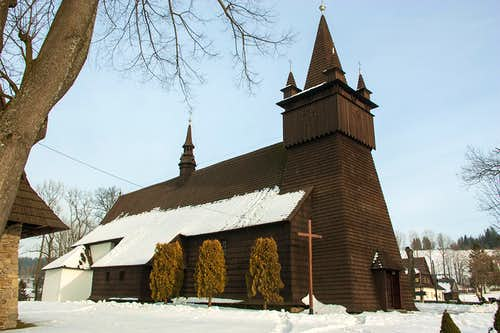 XVIIcent. Orawka church