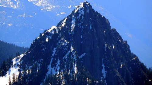 Bear Mountain from Hubbart Peak