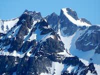 Kyes Peak from Hubbart Peak