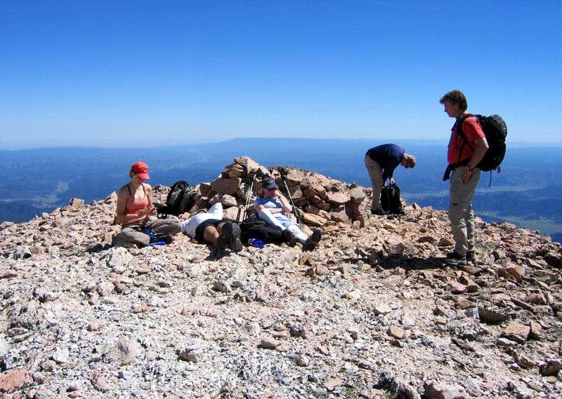 Red Mountain's summit
