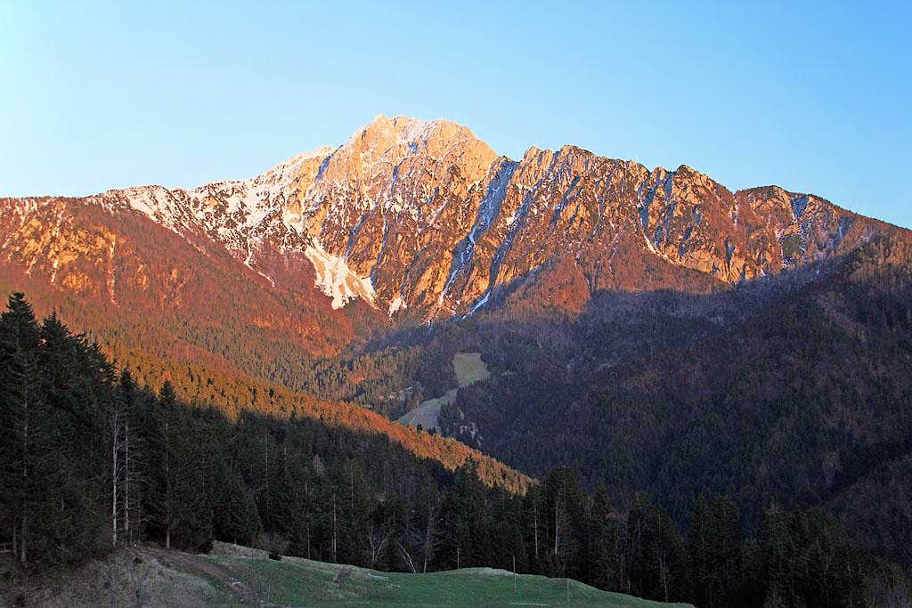 Storzic from the NW