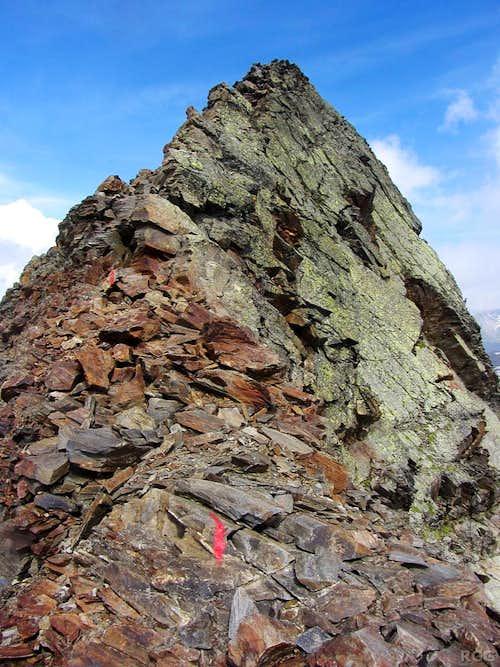 Lenkstein summit ridge