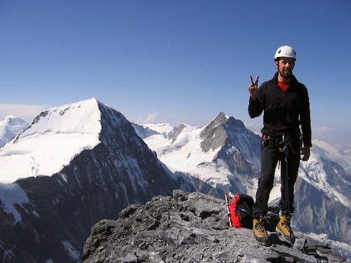 Summit shot with Mönch...
