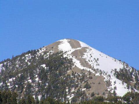 Mount Baldy from the