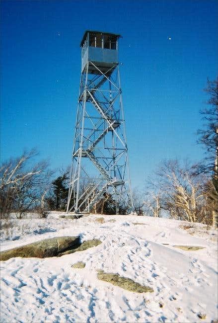 Poke-O-Mooshine Firetower