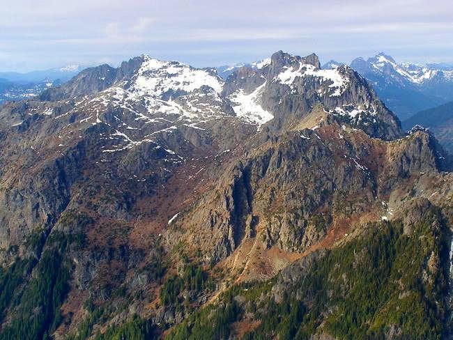 Gunn Peak as seen from Mt....