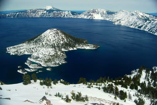 Crater Lake: April 10th, 11th 2015