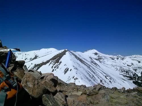 Vasquez Peak from Stanley Mountain