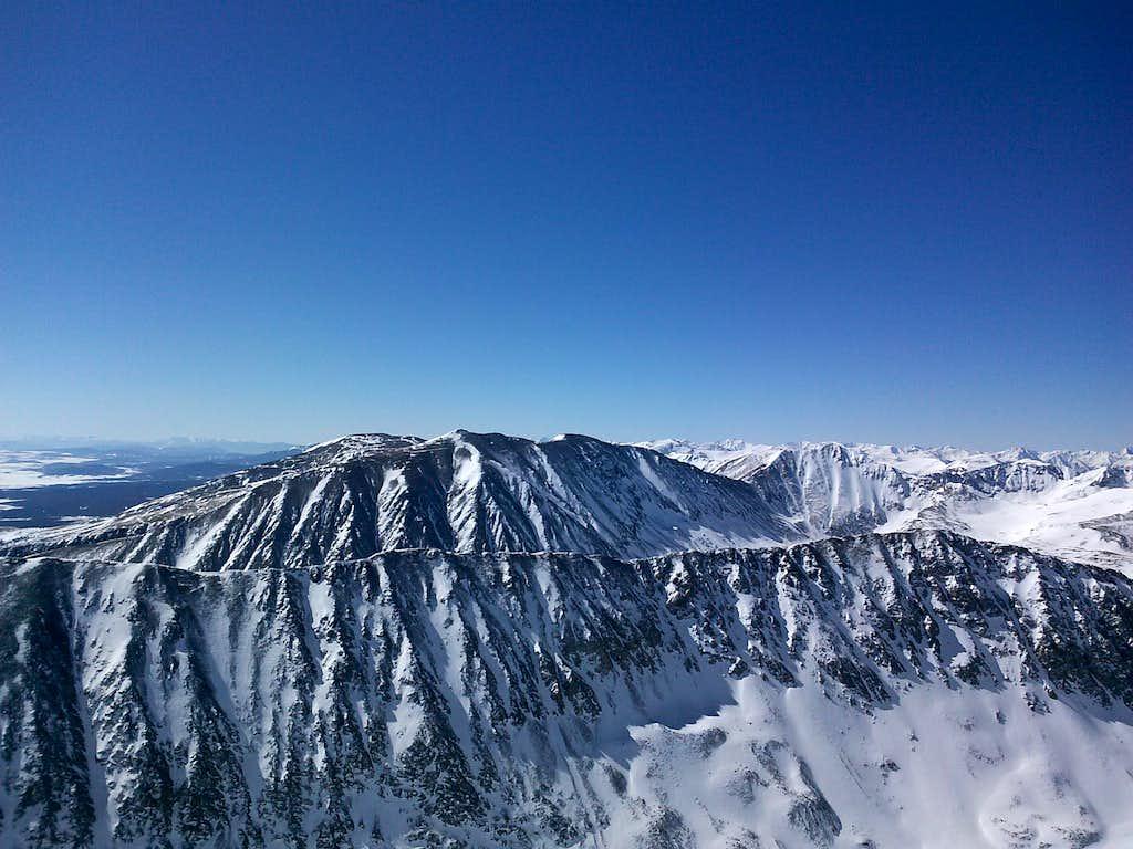 Quandary Peak summit looking south