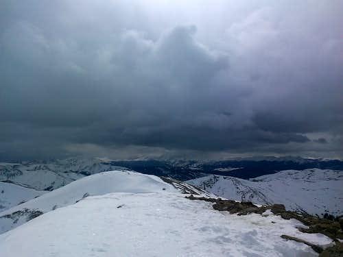 Mount Sniktau summit looking northeast