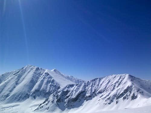 'cupid' summit looking south