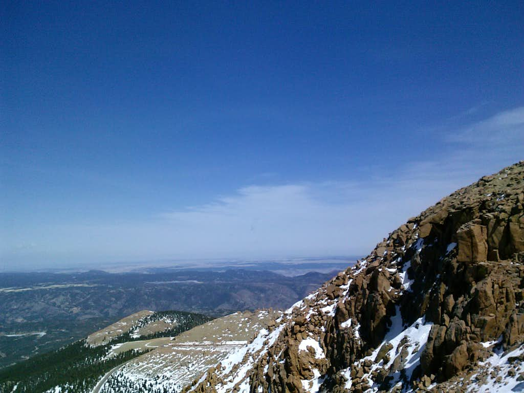 Pikes Peak above treeline