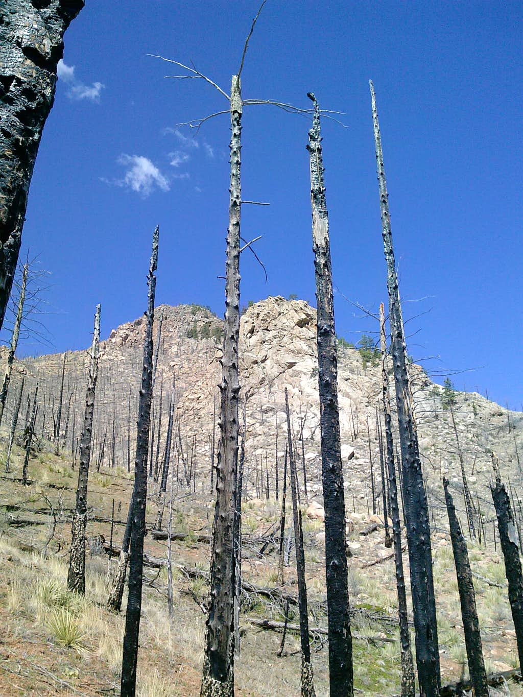 Thunder Butte southeast ridge