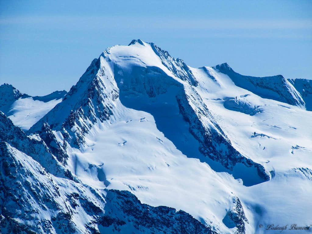 Grosser Moseler (NW-Face,11417 ft / 3480 m).