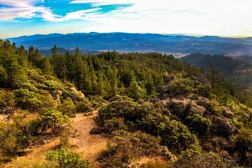 Napa Valley from the Table Rock trail