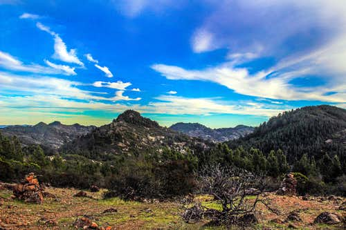 Peaks of the Palisade area