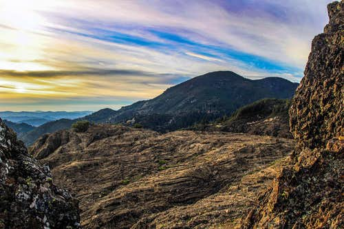 Mt. St. Helena from Table Rock