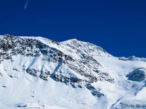 <b>Zillertaler Hoher Riffler (10600 ft / 3231 m, W-Face)