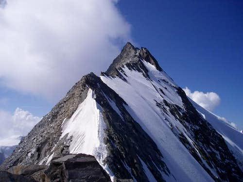 North ridge. Note: upper...