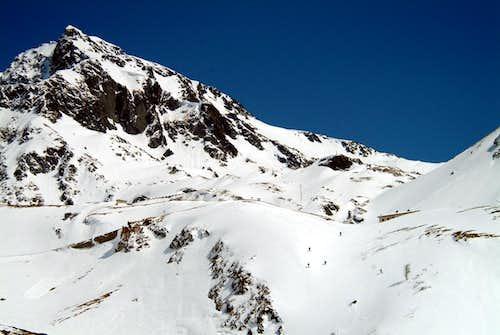 Gr. St. Bernard descent below the Chenalette 2004