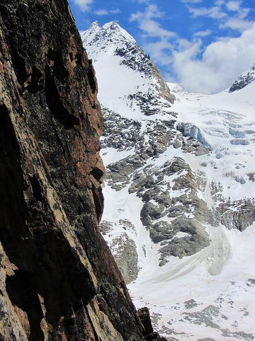 Fletschhorn (3993m) from Alpendürst