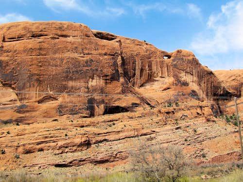 Moab Rim Trailhead
