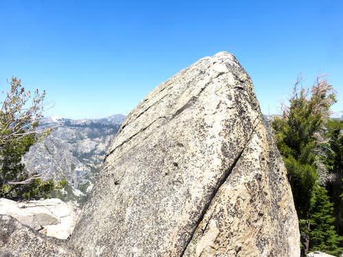 True summit of Frog Lake Peak