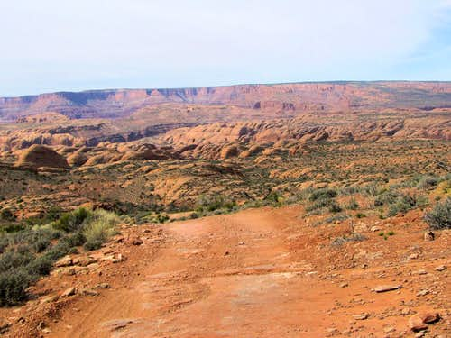 On the way to Moab Viewpoint
