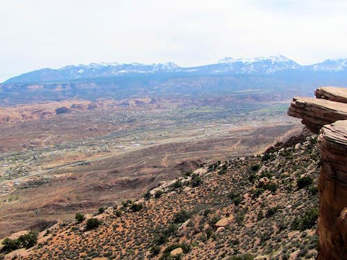 From Moab Viewpoint