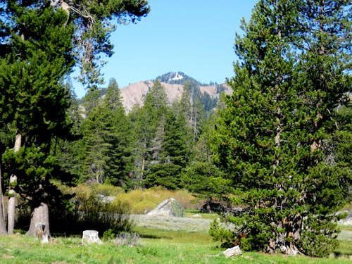 Frog Lake Peak from the Euler Valley