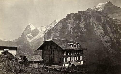 Eiger Mönch Silberhorn