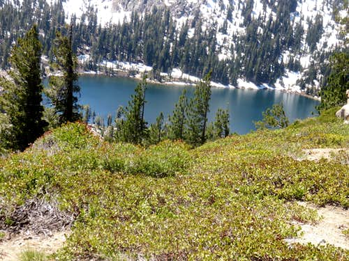 First good view of Frog Lake
