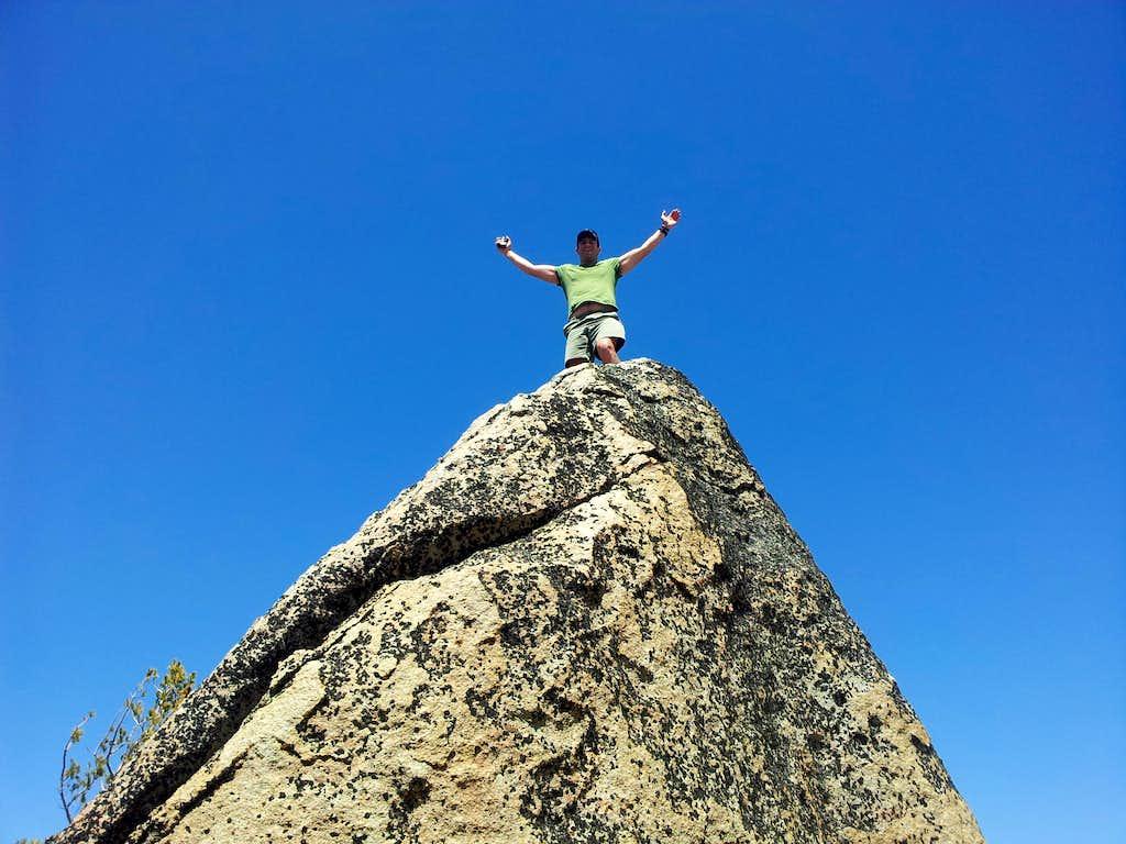 Me on top of Frog Lake Peak