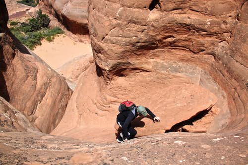 Scramble up Elephant Butte
