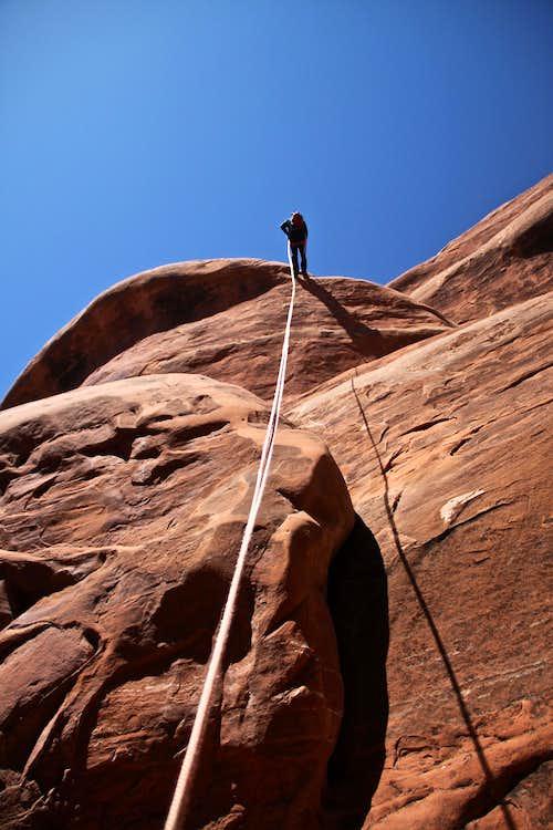 Ascent rappel