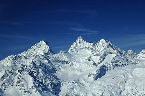 Dent Blanche (left) and...