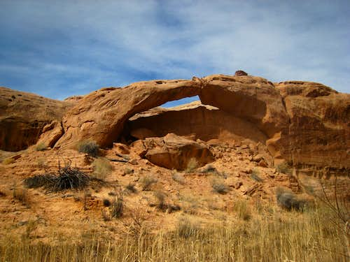 Unnamed arch in Buck Canyon