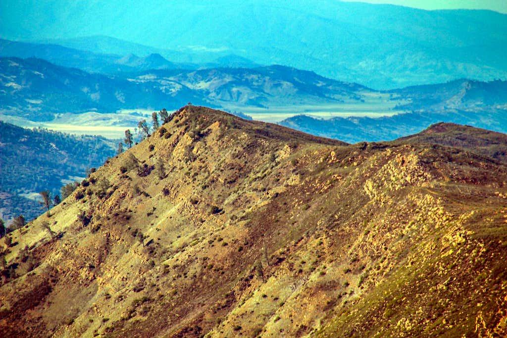 Glascock Mountain from Fiske Peak
