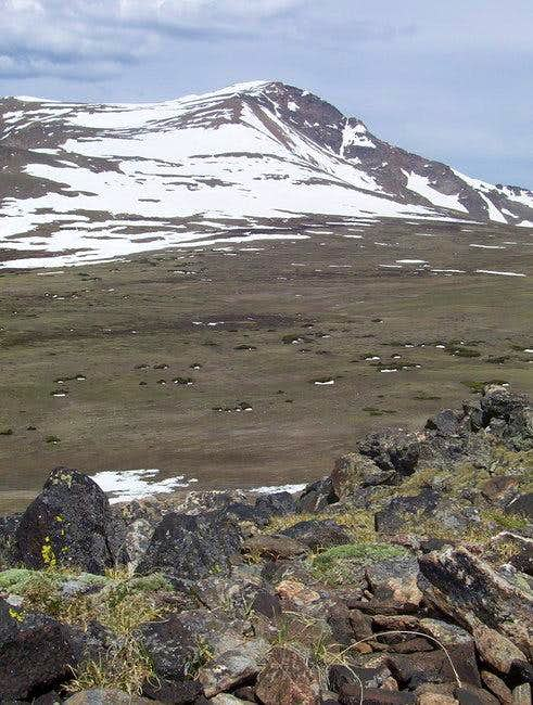 James Peak seen from an...