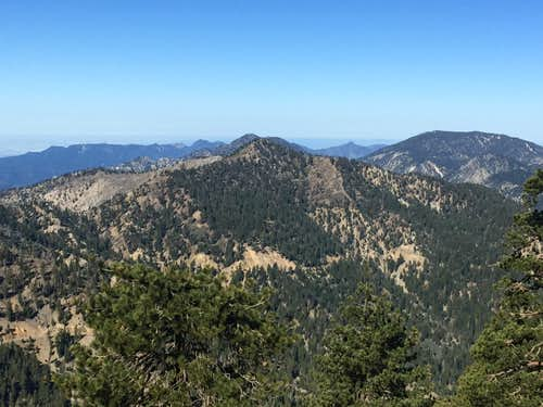 Mt. Islip, Waterman Mountain, and Mt. Wilson
